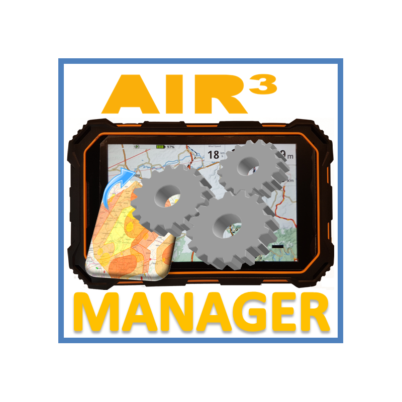 AIR³ Manager Vario GPS android tab