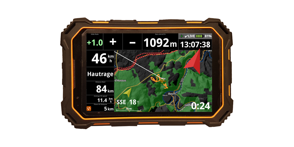 AIR3: All in one android rugged flight instrument