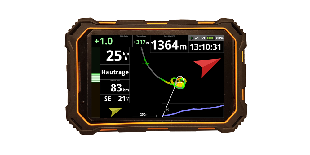 AIR³ AIR3: All in one android rugged flight instrument