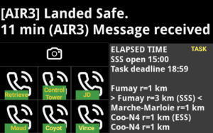 AIR³ Vario GPS android tab